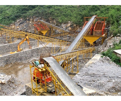 High Qualified Large Capacity Stone Production Line For Rock Ore Crushing Plant