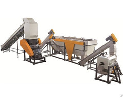 1000kg H Pet Bottle Flake Recycling Machine For Washing
