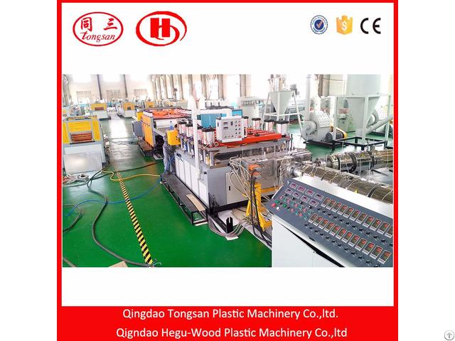 Wpc Pvc Foam Board Extrusion Machine
