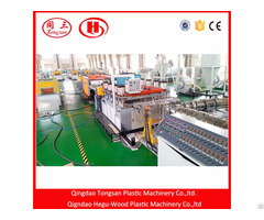 Wpc Pvc Foam Board Extrusion Machine