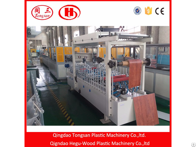 Pvc Wall Panel And Ceiling Extrusion Machine