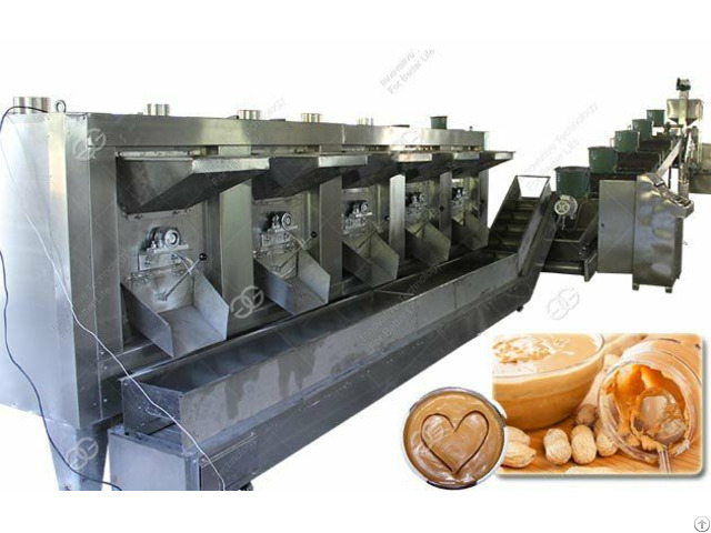 Commercial Peanut Butter Production Line