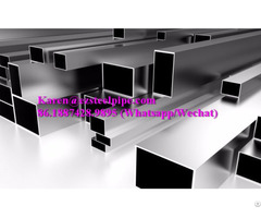 Rectangular Steel Square Tube Structural Hollow Profiles