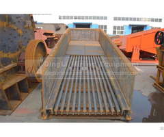 Zg Series Vibrating Feeder In Mining Feeding And Crushing Production For Limestone Conveying