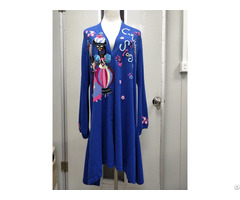 Hand Embroidery Cardigan Sweater Women Knits