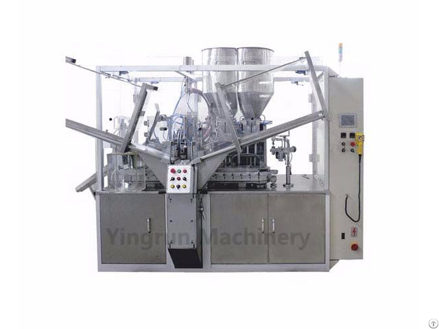 Automatic 2 Color Toothpaste Filling And Sealing Machine