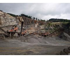 Large Stone Crushing Plant 500tph Production Capacity