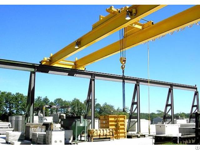 Electric Hoist Double Girder Overhead Crane
