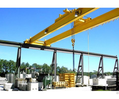 Electric Hoist Double Girder Overhead Crane