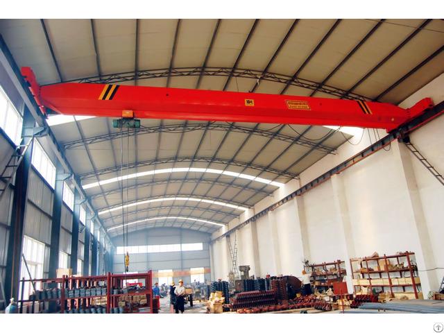 Single Girder Overhead Maintenance Crane