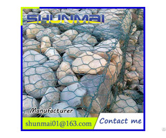Hexagonal Wire Mesh Stone Cage Nets