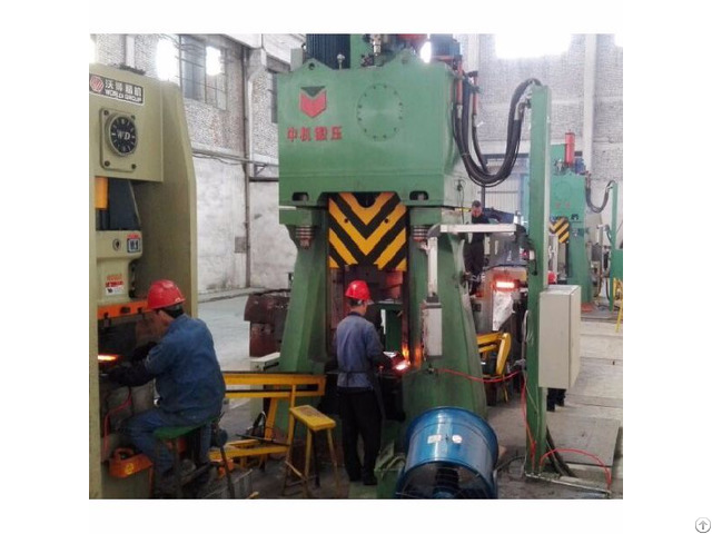Steering Knuckles Forge On Programmable Control Drop Forging Hammer 1 5 Metric Tons