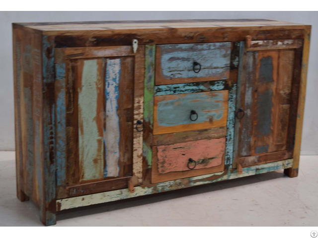 Recycled Indian Wooden Furniture