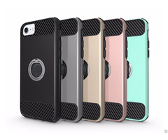 China Wholesale Fashion Design Pc Tpu With Ring Stand Cell Phone Case For Samsung Galaxy S8