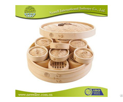 Great Quality Natural Cooking Bamboo Steamer For Restaurant