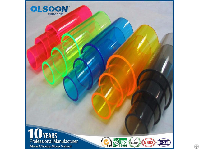 Plexiglass Clear Color Acrylic Tube Manufacturers