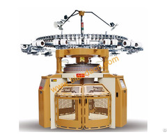 Double Interlock Jersey Circular Knitting Machine