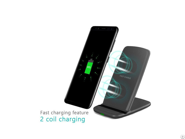 Factory Product Qi Wireless Fast Charger Smacat Q720 For Iphone Samsung