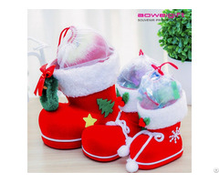 Novelty Candy Box For Kids Boots Shaped Christmas Gift Packaging