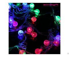 Custom Colorful Christmas Led String Light Flash Festival Party Decoration Lights