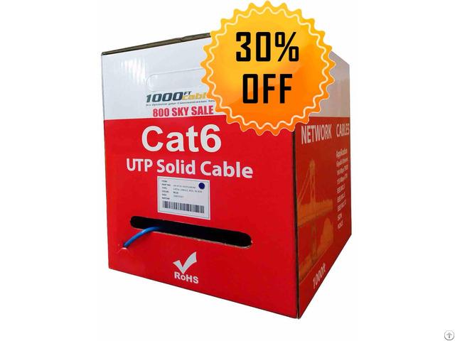 1000ft Cat6 Plenum Cmp Cable Worldbid