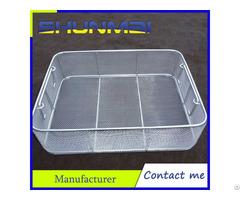 Stainless Steel Sterilizing Basket
