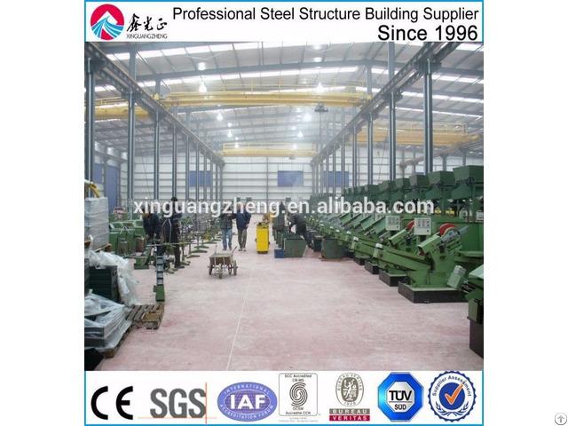 Low Cost Metal Steel Structure Workshop