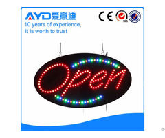 Advertising Street Display Signs Led Open Sign