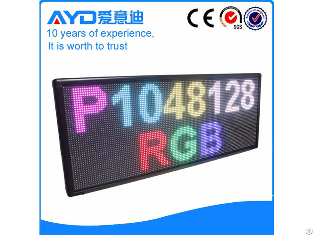 High Quality Moving Message Board Led Sign