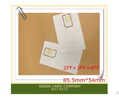 High Quality 6 Pin Chip Nano Sim Card For Gsm Network