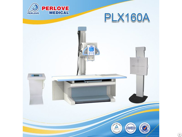 40khz X Ray Chest Machine Plx160a With Control Console