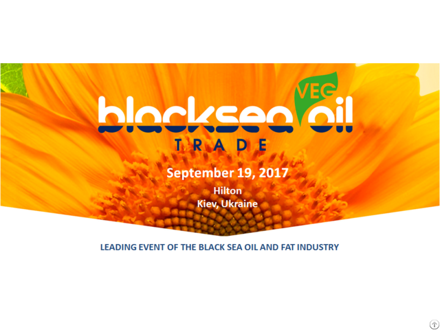 "International Conference Black Sea Oil Trade 2017"""