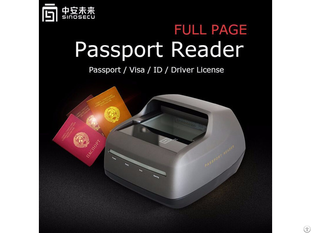 Passport Reader For New Zealand Driver License