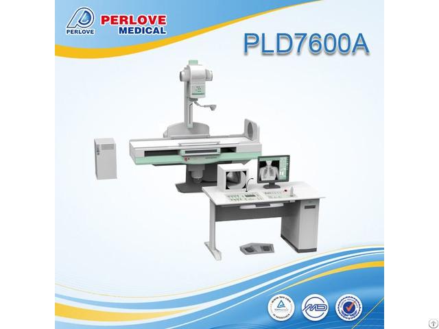 Digital Stationary 50kw Fluoroscopy X Ray System Pld7600a