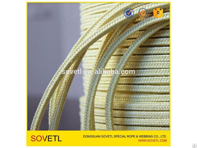 Kevlar Aramid Packaging Rope For Glass Tempering