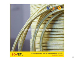 Kevlar Aramid Packaging Rope For Glass Tempering