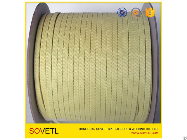 Top Quality Glass Tempering Furnace Conveyor Belt Kevlar Aramid Square Roller Rope