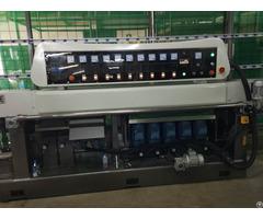 Glass Straight Line Multilevel Edging Machine 9 Spindles