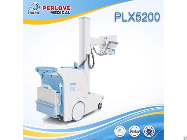 Friendly Interface Mobile Dr Radiography Machine Plx5200
