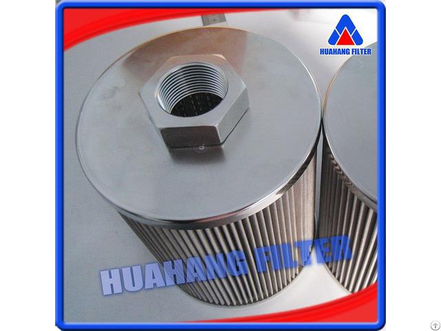 Direct Interchange 25 Micron 304 Stainless Steel Wire Mesh Hydraulic Filter
