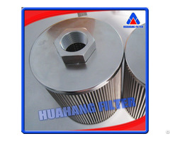 Direct Interchange 25 Micron 304 Stainless Steel Wire Mesh Hydraulic Filter