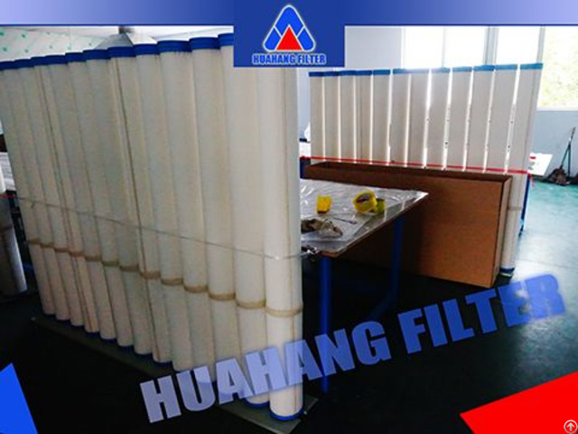 Factory High Flow Pleated Filter Cartridge Cooling Water Treatment