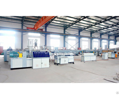 High Speed Pp Pe Pvc Single Wall Corrugated Pipe Extrusion Machine