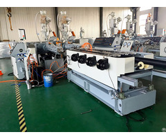 Hdpe Pvc Double Wall Corrugated Pipe Extrusion Machine