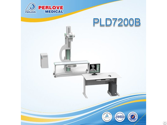 Famous Brand Digital Xray System Pld7200b With Imported Generator