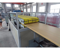 Wpc Pvc Hollow Door Board Extrusion Machine