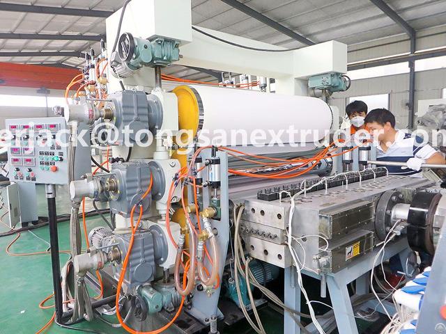 Pvc Free Foam Sheet Extrusion Machine