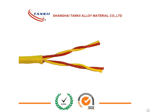 Kx Extension Wire With Fiberglass Insulation