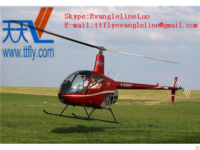 Robinson R22 Two-bladed, Single-engine Light Utility Helicopter