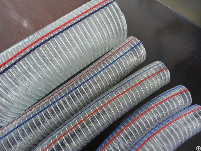 Pvc Steel Wire Hose 1 4